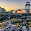 Summer Sunrise At Marshall Point Lighthouse by Kristen Wilkinson