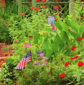 Summertime In The Flower Garden by Ola Allen
