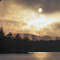 Sun Behind The Clouds by Inge Van Balkom