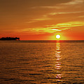 Sun Over Lake Ontario by Jack R Perry