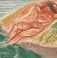Sunbathing I by Edvard Munch