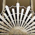 Sunburst Art Deco Sepia by Marilyn Hunt