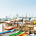 Sunda Kelapa Old Harbour  With Fishing by Kzenon