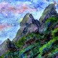Sundowner Mountain by ZeichenbloQ