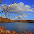 Sunfish Pond From The Appalachian Trail by Raymond Salani III