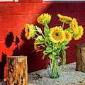 Sunflower Arrangement by Susan Candelario