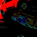 Sunken Car by Artist Dot