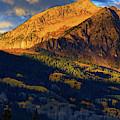 Sunlight Along The Mountain by John De Bord