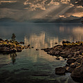 Sunrays On The Lake by Rick Strobaugh