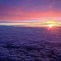 Sunrise Above The Clouds by Mark Duehmig