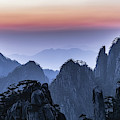 Sunrise At Mt.huangshan by Usha Peddamatham