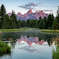 Sunrise At Schwabacher by Ronnie and Frances Howard