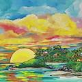 Sunrise At The Islands by Patti Schermerhorn