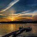 Sunrise Dog Lake by Joe Holley