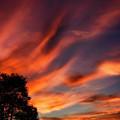 Sunrise Drama October Sky by Thomas R Fletcher