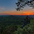 Sunrise In Saxon Switzerland by Andreas Levi