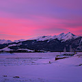 Sunrise On Lake Dillon by Sharon Seaward
