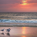 Sunrise On Tybee Island  by James Woody