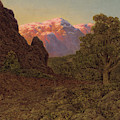 Sunrise Over The Mountain by Ivan Fedorovich Choultse