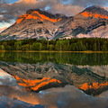 Sunrise Reflections At Wedge Pond Panorama by Adam Jewell