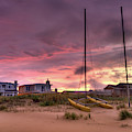 Sunset After Hurricane by Catherine Johnson