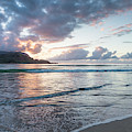 Sunset At Hanalei Bay, No. 2 by Belinda Greb