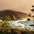 Sunset At Heceta Head by James Eddy