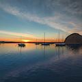 Sunset At Morro Bay by Hanna Tor