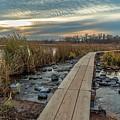 Sunset At Purgatory Creek by Susan Rydberg