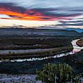 Sunset At Rio Grande Village by Matthew Irvin