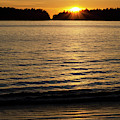 Sunset Beach Vancouver Island 2 by Bob Christopher