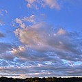 Sunset Clouds by Lisa Wooten