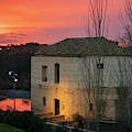 Sunset Cordoba Spain by Joan Carroll