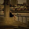 Sunset Enjoyment by Juan Contreras