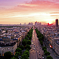 Sunset In Paris by Pink Pixel Photography
