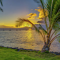 Sunset In Tahiti French Polynesia by Scott McGuire