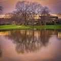Sunset In The Park by Jonathan Hansen