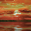 Sunset Lake by Bill Swartwout Photography