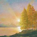 Sunset Lake by Douglas Castleman