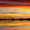 Sunset Magic Salar De Uyuni Bolivia by James Brunker