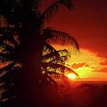 Sunset Maui Hawaii 16x9 by Edward Fielding