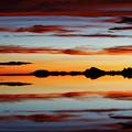 Sunset Mystery Salar De Uyuni Bolivia by James Brunker