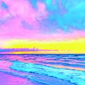 Sunset On The Kona Coast by Dominic Piperata
