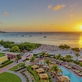 Sunset Over Aruba by Scott McGuire