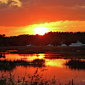 Sunset Over Calabash by Cynthia Guinn