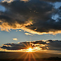 Sunset Over Colorado National Monumentr by Ray Mathis