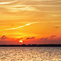 Sunset Over Destin by Kay Brewer