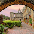 Sunset Over Mission San Jose - San Antonio Texas - Catholic Mission by Jason Politte