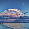 Sunset Over Sanibel Island by Jeff Breiman