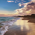 Sunset Reflections In Montauk by Alissa Beth Photography